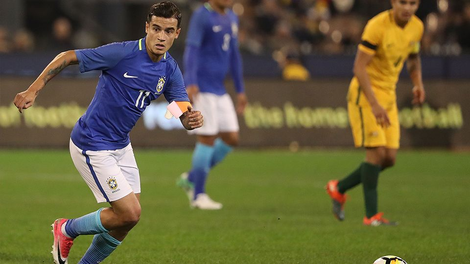 Highlights: Coutinho captains Brazil to victory