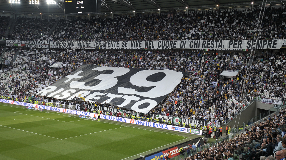 Heysel remembered with service in Turin