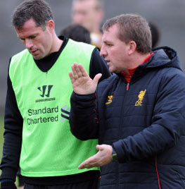 jamie carragher, brendan rodgers
